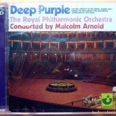 CDs de Música: DEEP PURPLE: CONCERTO FOR GROUP AND ORCHESTRA - DOBLE CD - HARVEST (UK) - 2002 - PRECINTADO. Lote 237412655