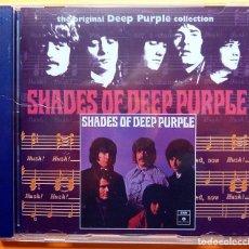 CDs de Música: DEEP PURPLE: SHADES - CD - CON 5 TEMAS EXTRA - EMI (UK) - 2000 - PRECINTADO. Lote 237412900