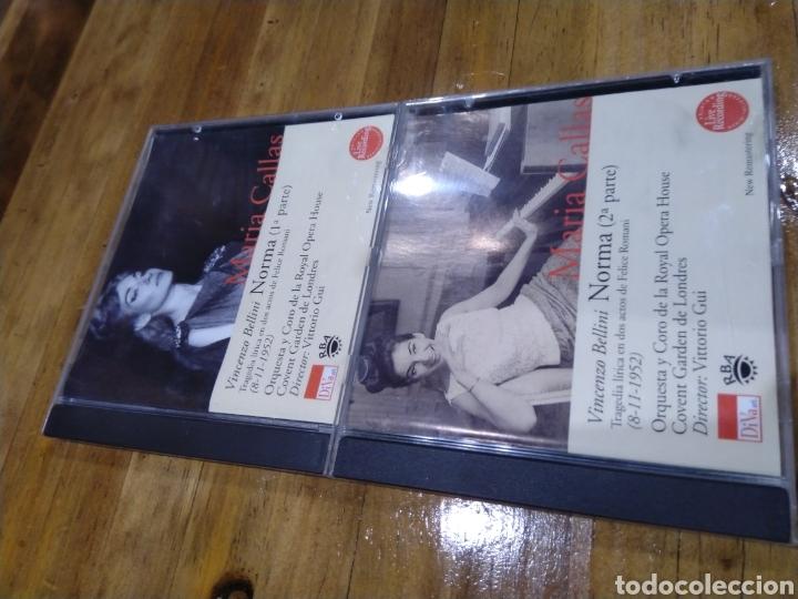 003. MARÍA CALLAS. NORMA. 2 CD (Música - CD's Clásica, Ópera, Zarzuela y Marchas)