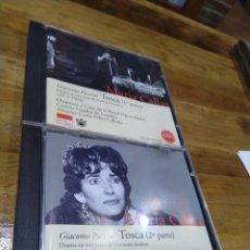 CDs de Música: 003. MARÍA CALLAS. TOSCA. 2 CD. Lote 237435930