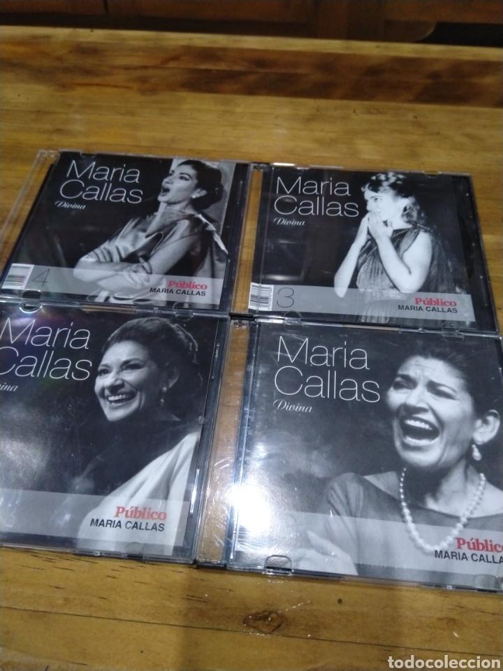 003. MARÍA CALLAS. DIVINA (Música - CD's Clásica, Ópera, Zarzuela y Marchas)