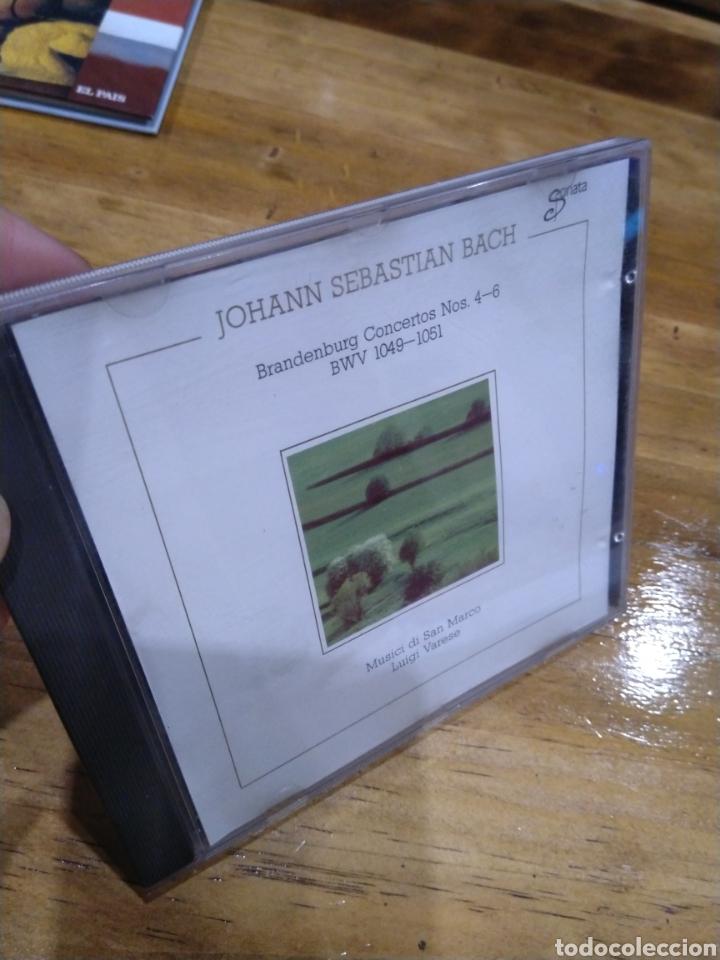 003. BACH. BRANDENBURG CONCERTOS 4-6 (Música - CD's Clásica, Ópera, Zarzuela y Marchas)