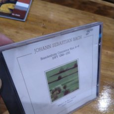 CDs de Música: 003. BACH. BRANDENBURG CONCERTOS 4-6. Lote 237436635