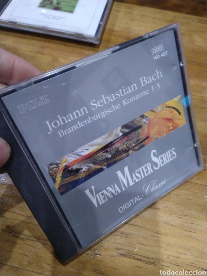 003. BACH. BRANDENBURGISCHE. 1-3 (Música - CD's Clásica, Ópera, Zarzuela y Marchas)