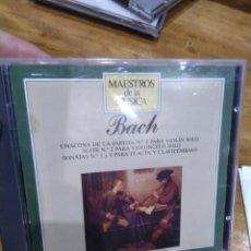 CDs de Música: 003. BACH. CHACONA DE LA PARTITA.. Lote 237437010