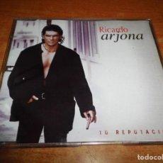 CDs de Música: RICARDO ARJONA TU REPUTACIÓN CD SINGLE PROMO PLASTICO HECHO EN MEXICO CONTIENE 1 TEMA RARO. Lote 237437065