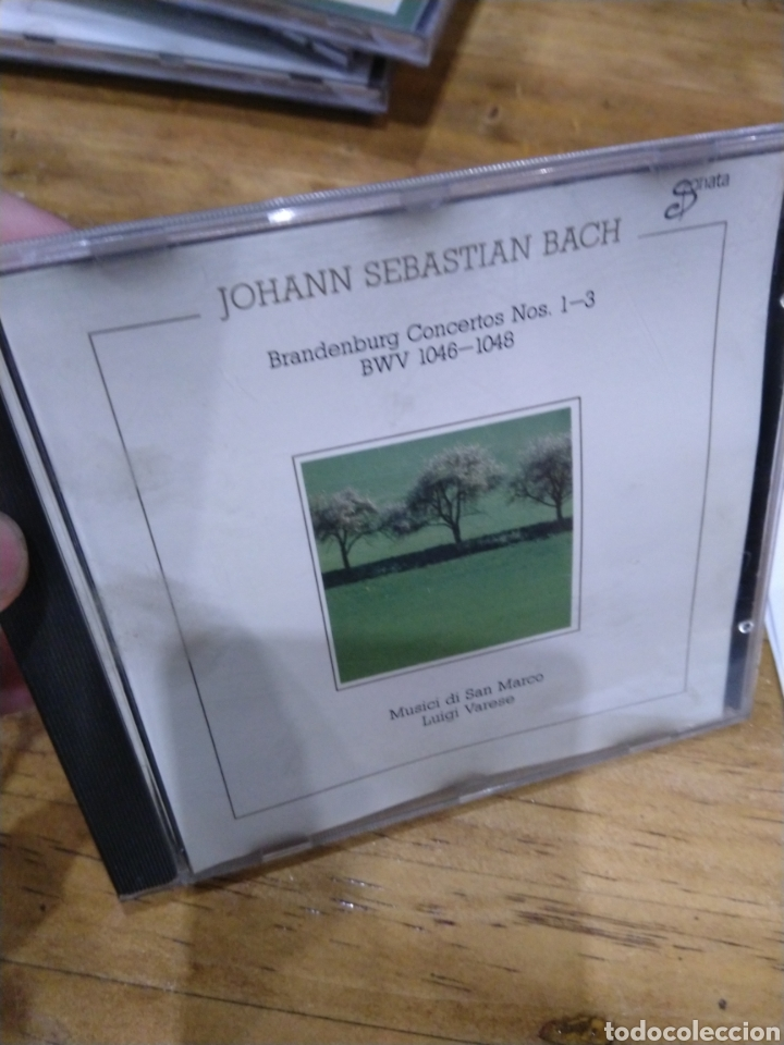 003. BACH. BRANDENBURG 1-3 (Música - CD's Clásica, Ópera, Zarzuela y Marchas)