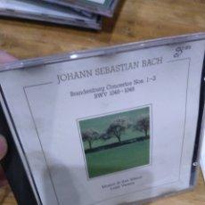 CDs de Música: 003. BACH. BRANDENBURG 1-3. Lote 237437140