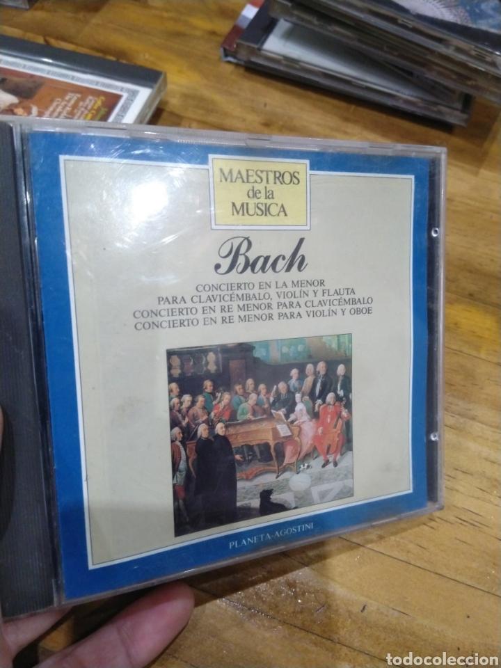 003. BACH. CONCIERTO EN LA MENOR. (Música - CD's Clásica, Ópera, Zarzuela y Marchas)