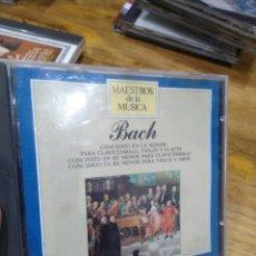 CDs de Música: 003. BACH. CONCIERTO EN LA MENOR.. Lote 237438010