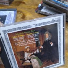 CDs de Música: 003. BACH. COFFEE CANTATA. PEASANT CANTATA.. Lote 237438165