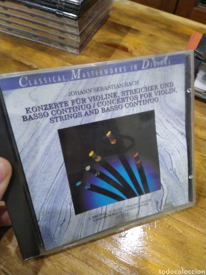 003. BACH. KONZERTE FUR VIOLINE. (Música - CD's Clásica, Ópera, Zarzuela y Marchas)