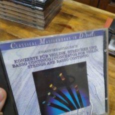 CDs de Música: 003. BACH. KONZERTE FUR VIOLINE.. Lote 237438490