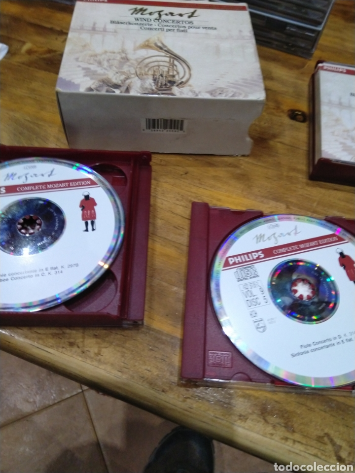 CDs de Música: 003. Mozart. Wind concertos. 5 cd. - Foto 2 - 237439425