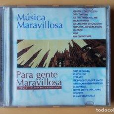 CDs de Música: MÚSICA MARAVILLOSA PARA GENTE MARAVILLOSA. NUEVA RECOPILACIÓN. VOL. 7 - DIVERSOS AUTORES. Lote 237445835
