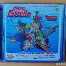 CDs de Música: DISCO ESTRELLA. LOS 60 AUTÉNTICOS ÉXITOS DEL VERANO 2003. VOL. 6. CD 1 Y CD 2 - DIVERSOS AUTORES. Lote 237445905