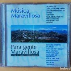 CDs de Música: MÚSICA MARAVILLOSA PARA GENTE MARAVILLOSA. NUEVA RECOPILACIÓN. VOL. 9 - DIVERSOS AUTORES. Lote 237445910
