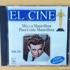 CDs de Música: MÚSICA MARAVILLOSA PARA GENTE MARAVILLOSA. EL CINE. VOL. 33 - DIVERSOS AUTORES. Lote 237445915