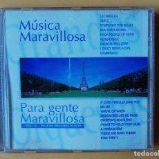 CDs de Música: MÚSICA MARAVILLOSA PARA GENTE MARAVILLOSA. NUEVA RECOPILACIÓN. VOL. 6 - DIVERSOS AUTORES. Lote 237445920