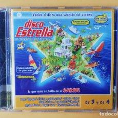 CDs de Música: DISCO ESTRELLA. LOS AUTÉNTICOS ÉXITOS DEL VERANO 2002. VOL. 5. CD 3 Y CD 4 - DIVERSOS AUTORES. Lote 237446020
