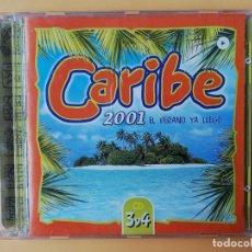 CDs de Música: CARIBE 2001. EL VERANO YA LLEGÓ. CD 3 Y CD 4 - DIVERSOS AUTORES. Lote 237446050