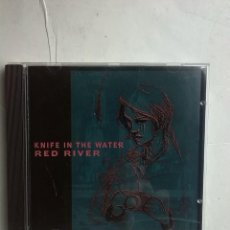 CDs de Música: RED RIVER - KNIFE IN THE WATER CD NEO FOLK. Lote 237471715