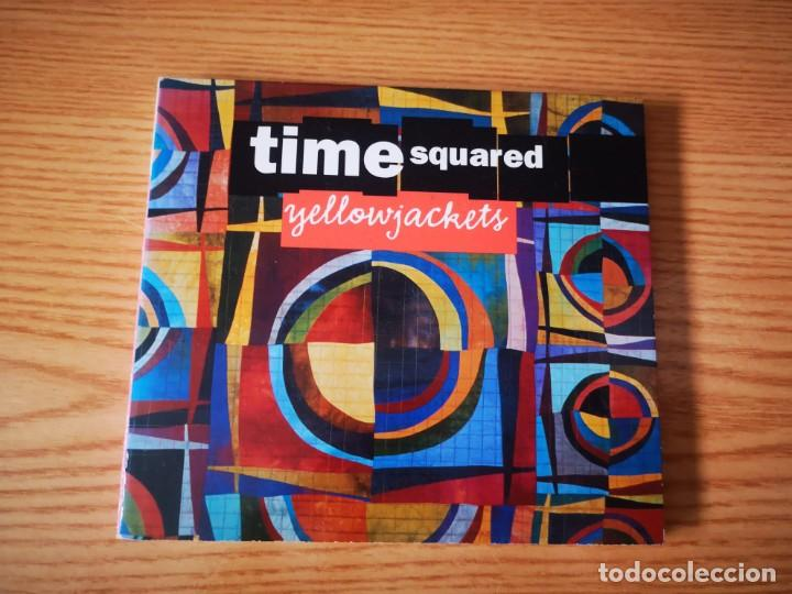 CDs de Música: YELLOWJACKETS - TIME SQUARED - COMO NUEVO ENHANCED CD - Foto 1 - 237475780
