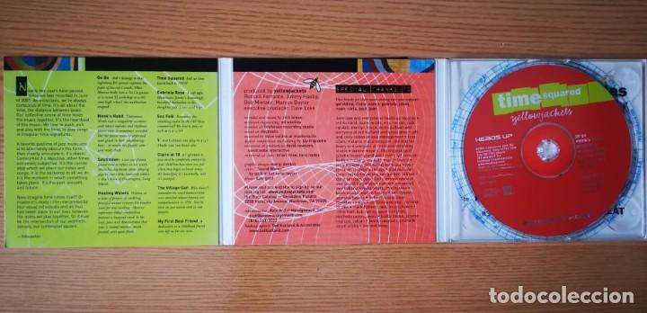 CDs de Música: YELLOWJACKETS - TIME SQUARED - COMO NUEVO ENHANCED CD - Foto 4 - 237475780
