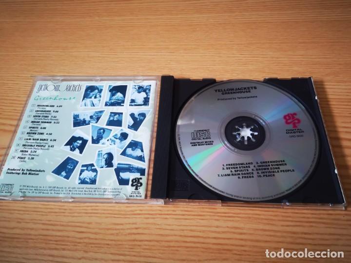 CDs de Música: YELLOWJACKETS - GREENHOUSE - DIGITAL MASTER COMO NUEVO GRP RECORDS - Foto 3 - 237478290