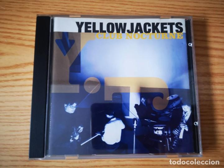 YELLOWJACKETS - CLUB NOCTURNE - COMO NUEVO WARNER BROS. RECORDS INC (Música - CD's Jazz, Blues, Soul y Gospel)