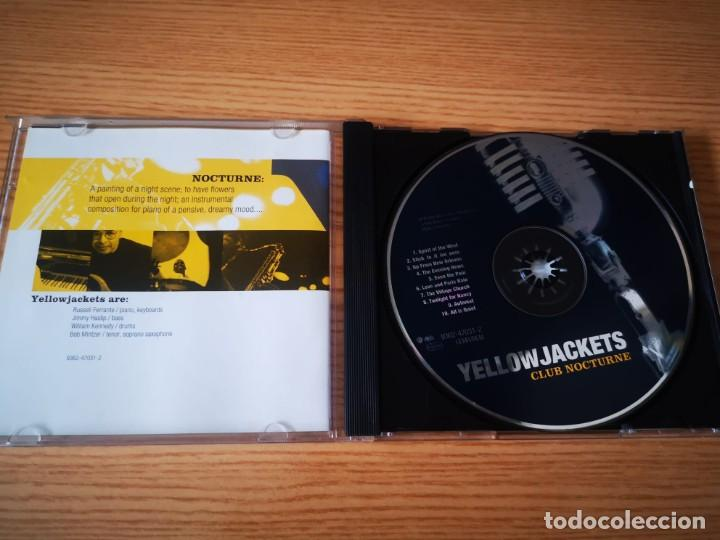CDs de Música: YELLOWJACKETS - CLUB NOCTURNE - COMO NUEVO WARNER BROS. RECORDS Inc - Foto 3 - 237478875