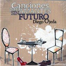 CDs de Música: DIEGO OJEDA - CANCIONES PARA AMANTES SIN FUTURO - PACK COMPLETO. Lote 237486265