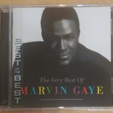 CDs de Música: MARVIN GAYE (THE VERY BEST OF MARVIN GAYE) CD 1994 - DIANA ROSS, TAMMI TERRELL, KIM WESTON. Lote 237529510