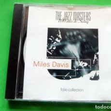 CDs de Música: CD - THE JAZZ MASTERS - 100 AÑOS DE SWING - MILES DAVIS - 1996 FOLIO COLLECTION. Lote 237536485