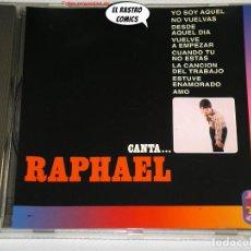 CDs de Música: RAPHAEL, CANTA, CD DIFUSIÓN, HISPAVOX, 1994, ARREG. MANUEL ALEJANDRO, DIFÍCIL. Lote 237540870