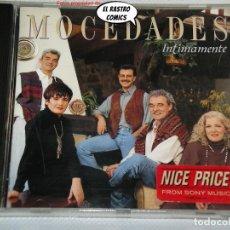 CDs de Música: MOCEDADES, INTIMAMENTE, CD SONY, 1992. Lote 237543400