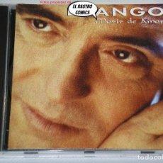 CDs de Música: DYANGO, MORIR DE AMOR, CD POLYGRAM, 1993, DUETOS CON PIMPINELA Y NANA MOUSKOURI. Lote 237546400
