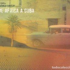 CDs de Música: DE AFRICA A CUBA - CACHAITO OMARA ORTUONDO RUBEN GONZALEZ IBRAHIM FERRER TOUMANI DIABATE - CD #. Lote 237551155