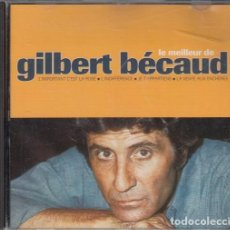 CDs de Música: GILBERT BECAUD - LO MEJOR - LE MEILLEUR DE GILBERT BECAUD - CD EDICION FRANCESA #. Lote 237553455