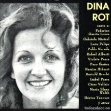 CDs de Música: DINA ROT - CARTAS - NUEVO Y PRECINTADO. Lote 237563860