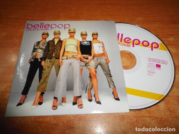BELLEPOP CHICAS AL PODER CD SINGLE PROMOCIONAL PORTADA DE CARTON AÑO 2002 1 TEMA POPSTAR (Música - CD's Pop)