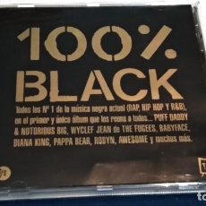 CDs de Música: CD DOBLE 2 CDS ( 100 % BLACK. TODOS LOS Nº 1. DOBLE CD / BLANCO Y NEGRO - 1998. 26 TEMAS). Lote 237584185