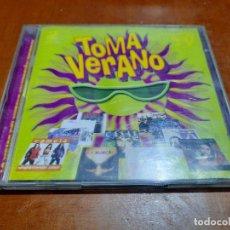 CDs de Música: TOMA VERANO. DOBLE CD. RECOPILATORIO. BUEN ESTADO. AÑO 2000. Lote 237589035