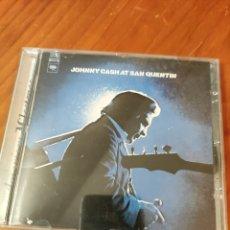 CDs de Música: CD JOHNNY CASH AT SAN QUENTIN. Lote 237589235