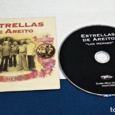 CDs de Música: CD SINGLE CARTON PROMO ( ESTRELLAS DE AREITO – LOS HEROES ) 1998 WORLD CIRCUIT. Lote 237590585