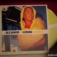 CDs de Música: ALEJANDRA GUZMAN DIABLO CD SINGLE PROMO ESPAÑA DEL AÑO 2002 PORTADA DE CARTON 1 TEMA. Lote 237593700