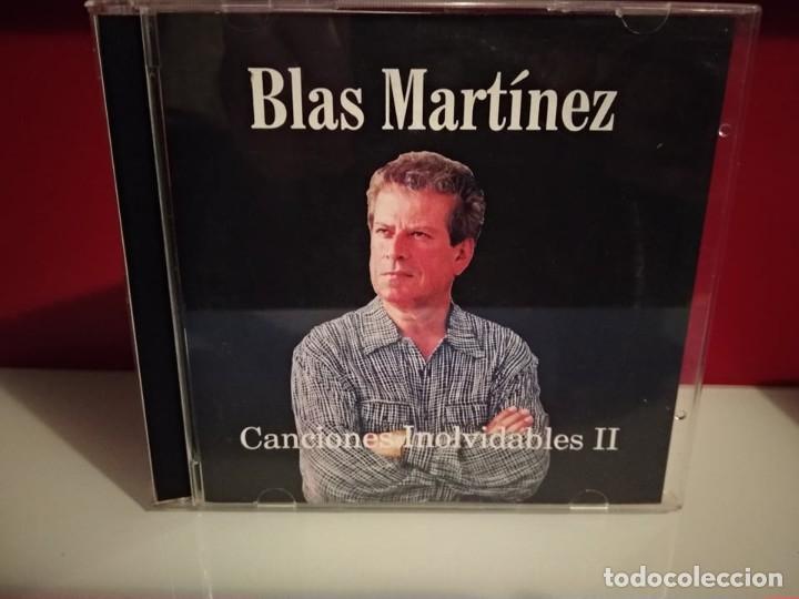 BLAS MARTINEZ CANCIONES INOLVIDABLES II CD ALBUM 14 TEMAS:LANZAROTE,SANTA CRUZ,,CANTAUTOR CANARIO (Música - CD's Pop)