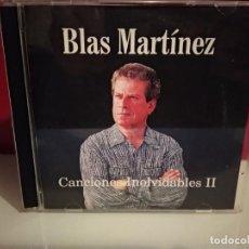 CDs de Música: BLAS MARTINEZ CANCIONES INOLVIDABLES II CD ALBUM 14 TEMAS:LANZAROTE,SANTA CRUZ,,CANTAUTOR CANARIO. Lote 237593900