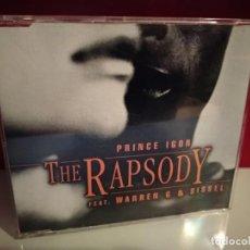 CDs de Música: THE RAPSODY FEAT. WARREN AND SISSEL - PRINCE IGOR (SIX VERSIONS) (CDSINGLE CAJA. Lote 237594235