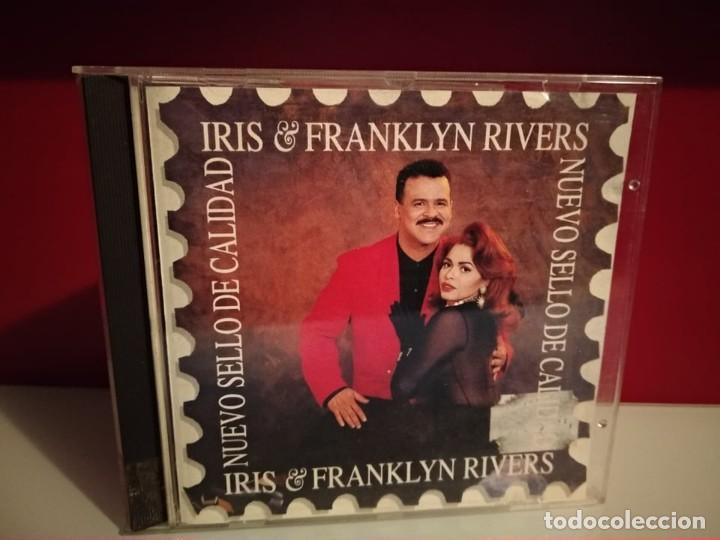 IRIS & FRANKLYN RIVERS - NUEVO SELLO DE CALIDAD - SPAIN CD ALBUM MANZANA 1994 (Música - CD's Pop)